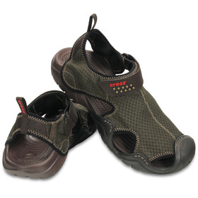 Crocs Swiftwater Sandals Men Espresso/Espresso